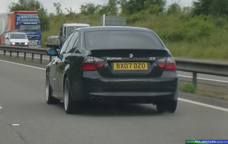 Black D3 Saloon