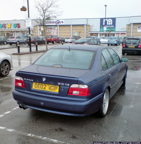 Dark Blue B10 V8 Saloon