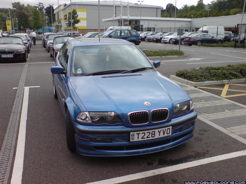 Estoril Blue B3 3.3 Saloon
