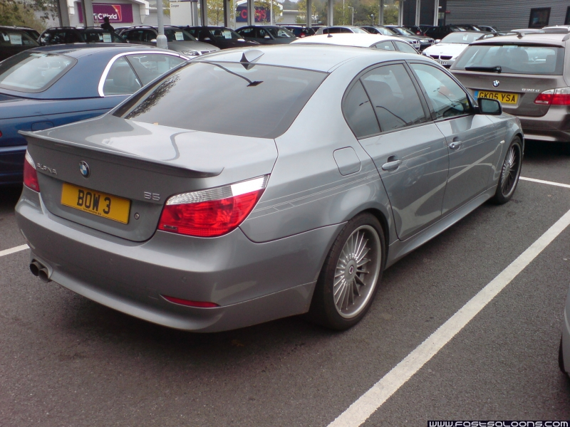 Dark Silver B5 Saloon (with Silver Decko set)