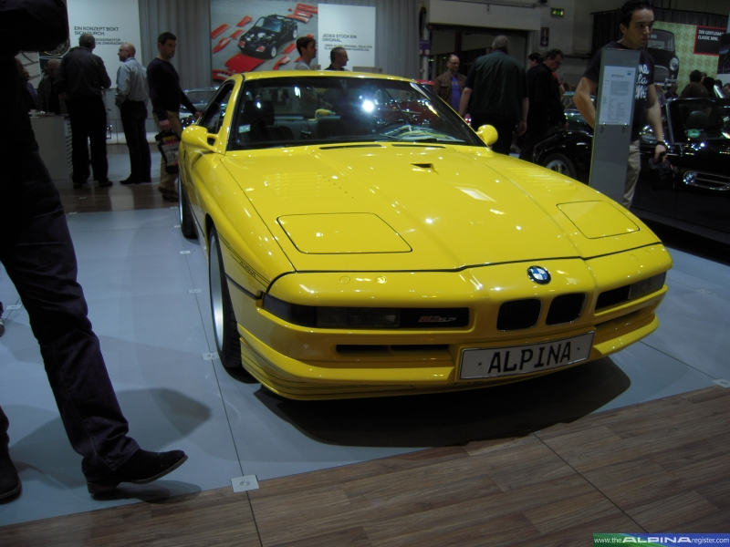 Yellow B12 5.7 Coupe