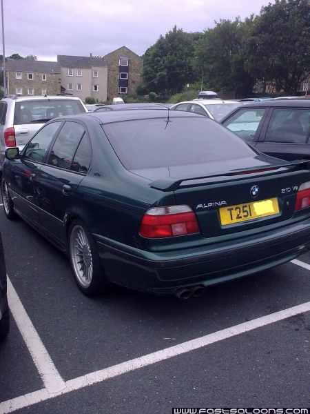 Green B10 V8 Saloon