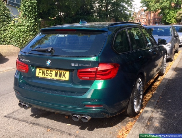 ALPINA Green B3 Bi-Turbo Touring