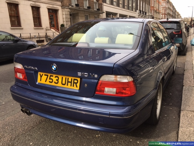 Blue B10 V8 Saloon