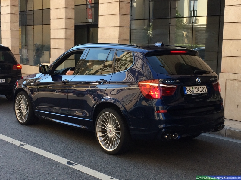 Dark Blue XD3 suv