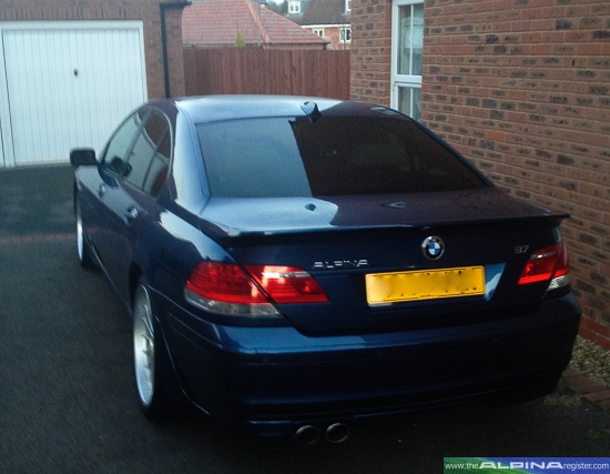 Blue B7 Saloon