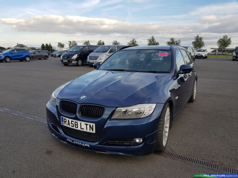 Dark Blue B3 Bi-Turbo Touring