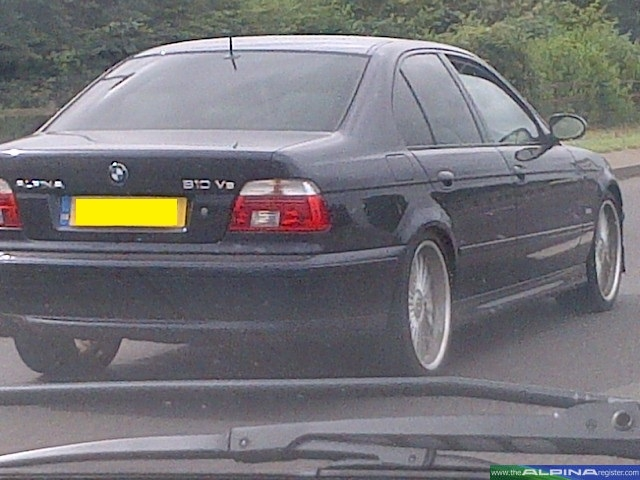 Black B10 V8 Saloon