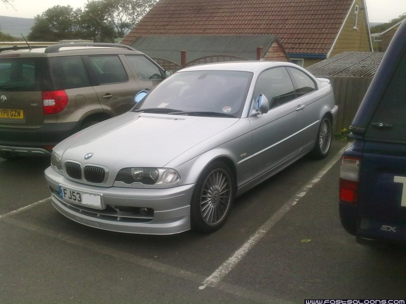 Silver B3 S Coupe