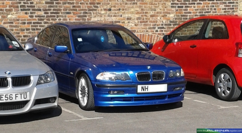 Estoril Blue B3 Saloon