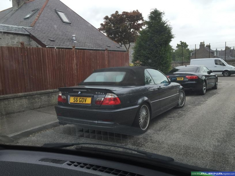 Grey B3 3.3 Cabrio