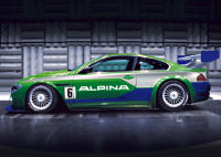 The ALPINA B6 S race car